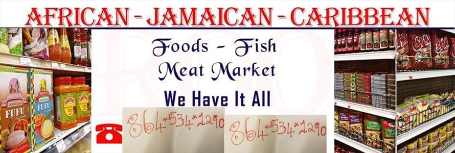 African-Jamaican-Caribbean Foods Fish & Meat Market