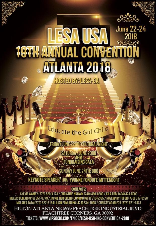 LESA USA Convention 2018