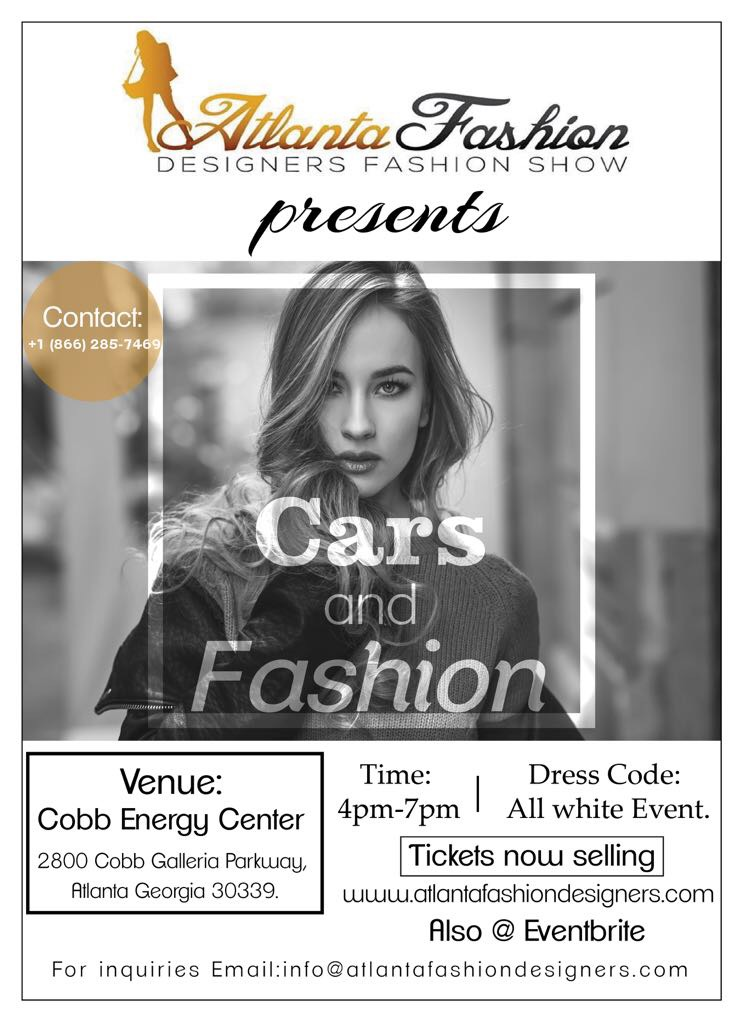 Atlanta Fashion Designers Fashion Show At Cobb Energy Center Sep 15 2018 Vipsocio
