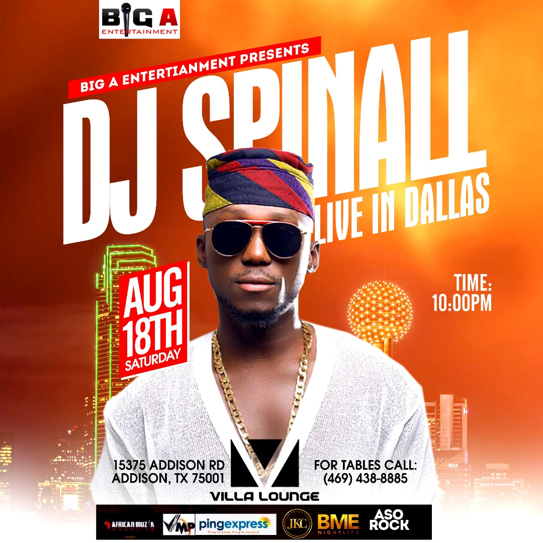 DJ SPINALL Live in Dallas