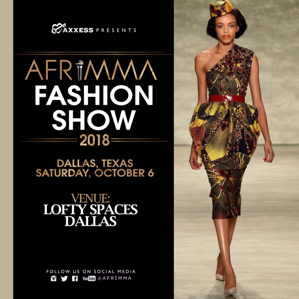 AFRIMMA Fashion Show 2018