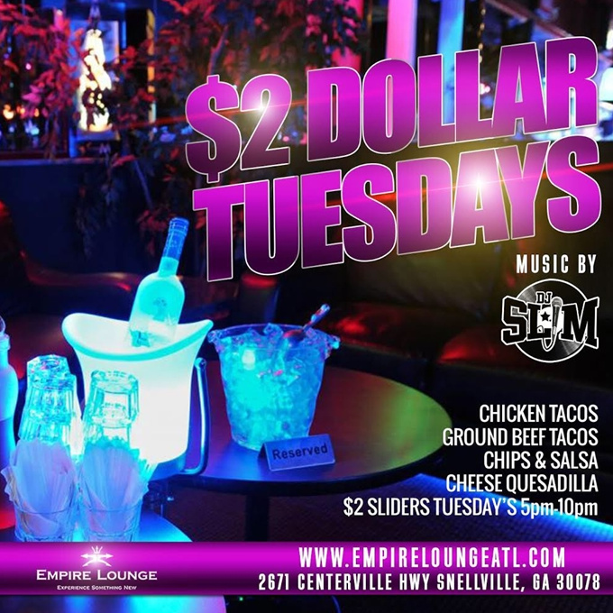 $2 Dollar Tuesdays