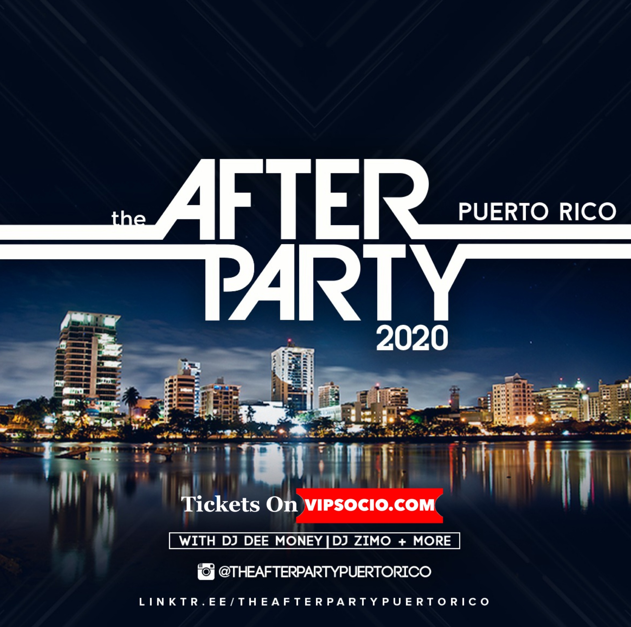 the Official Festival AFTER PARTY Two-Day Pass Puerto Rico 2020