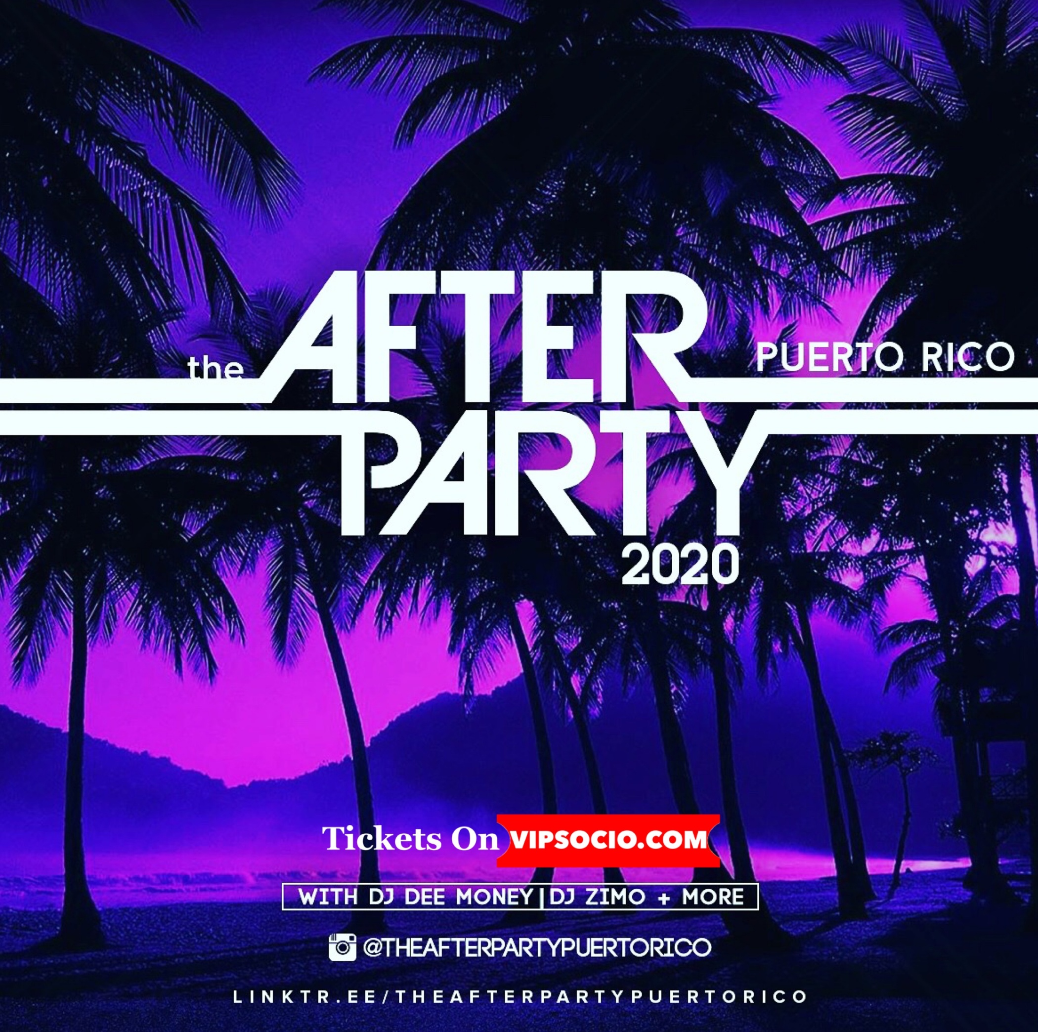 the AFTER PARTY Puerto Rico 2020