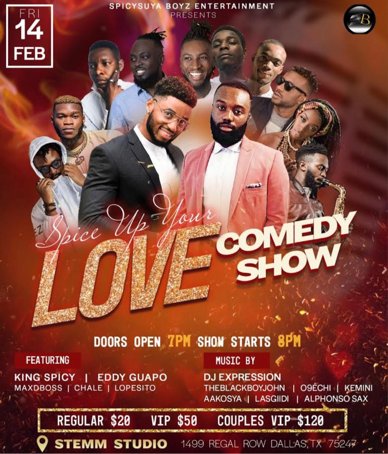 Spice Up Your Love Comedy Show