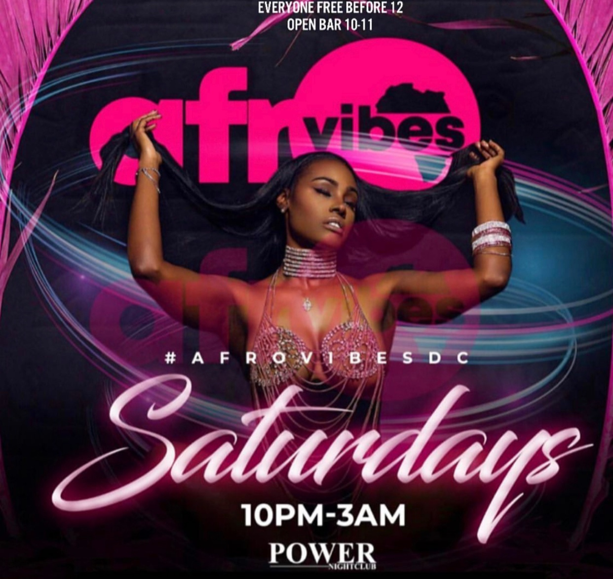 SAT: AfroVibesDC | Free Before 12 | Open Bar! @DCAfroCaribbean