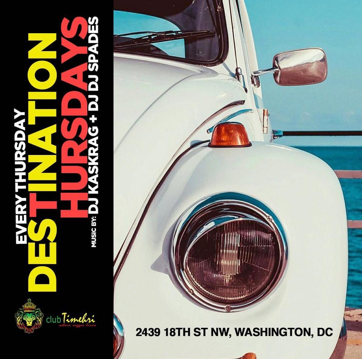 EVERY THU: ReggaeSocaThursdays | $5 Rum Punch | @DCAfroCaribbean