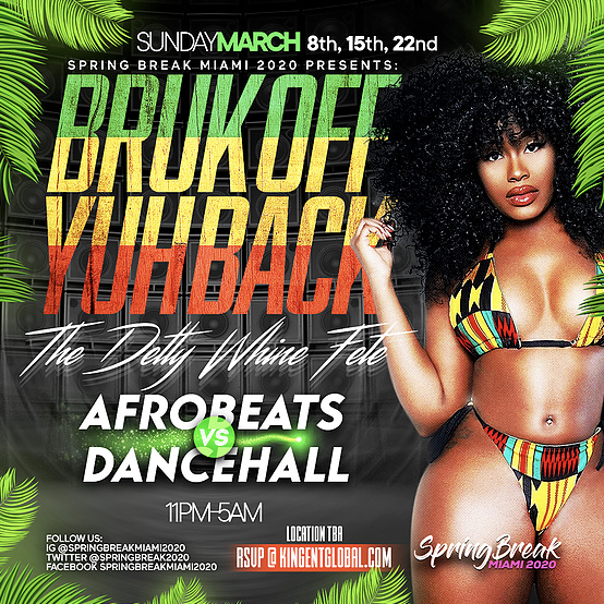 BRUK OFF YUH BACK - Afrobeats vs Dancehall (Twerk vs Dutty Wine)