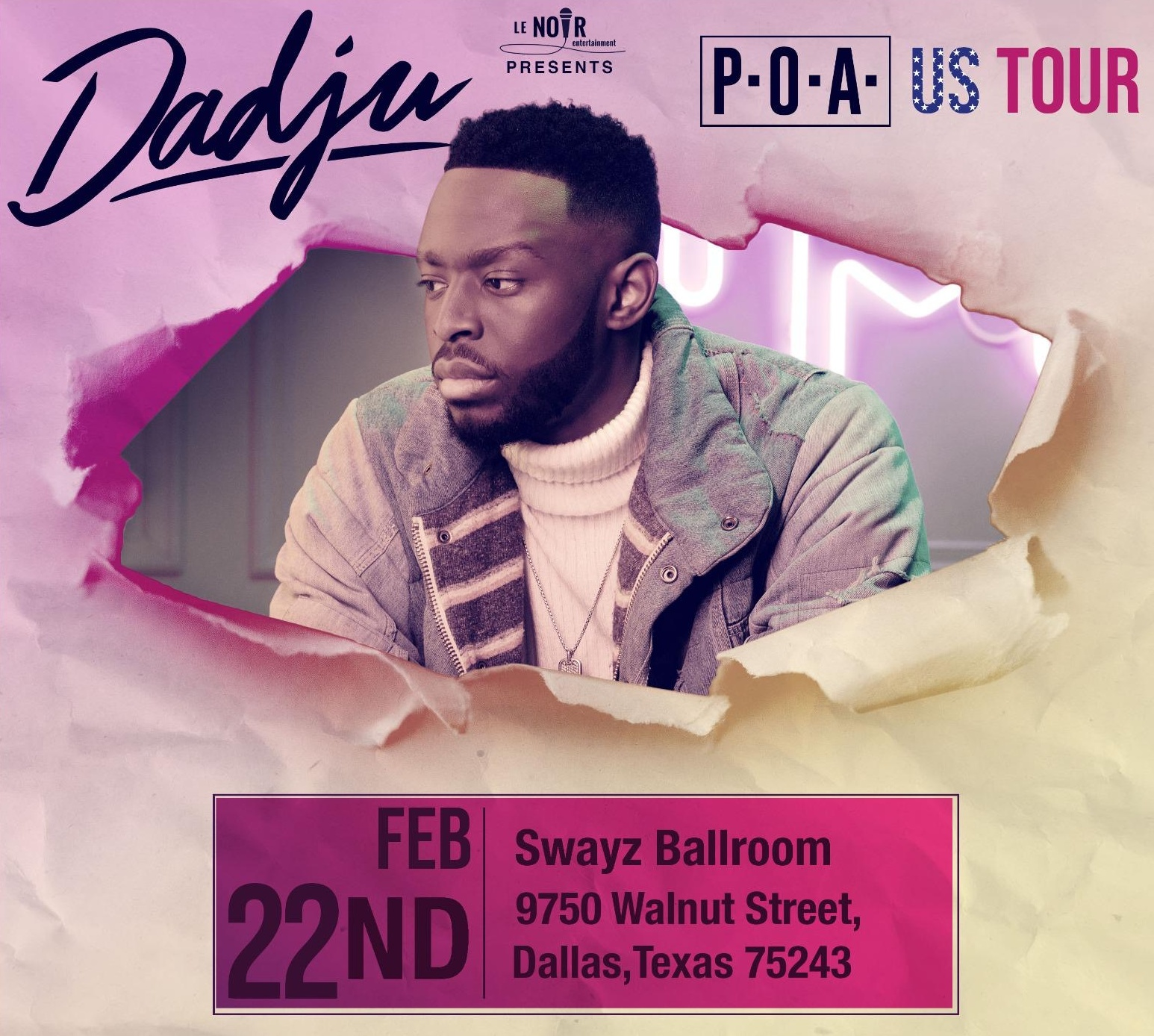 Dadju P.O.A TOUR Dallas, Texas