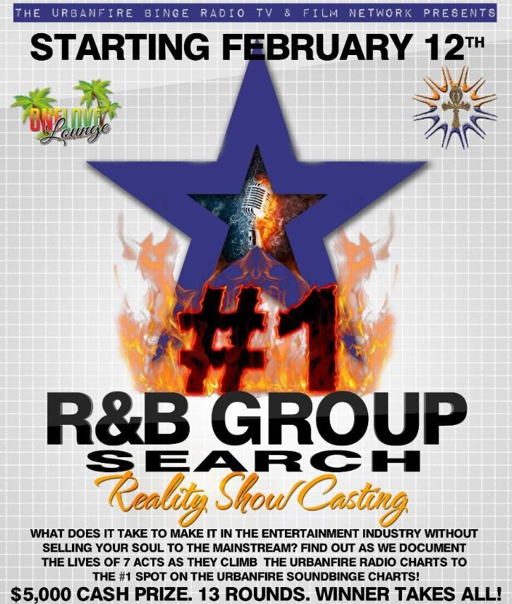 The Randb Group Search And Reality Show Casting
