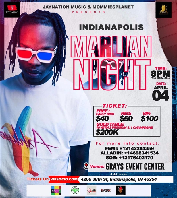 Naira Marley Live in Indianapolis