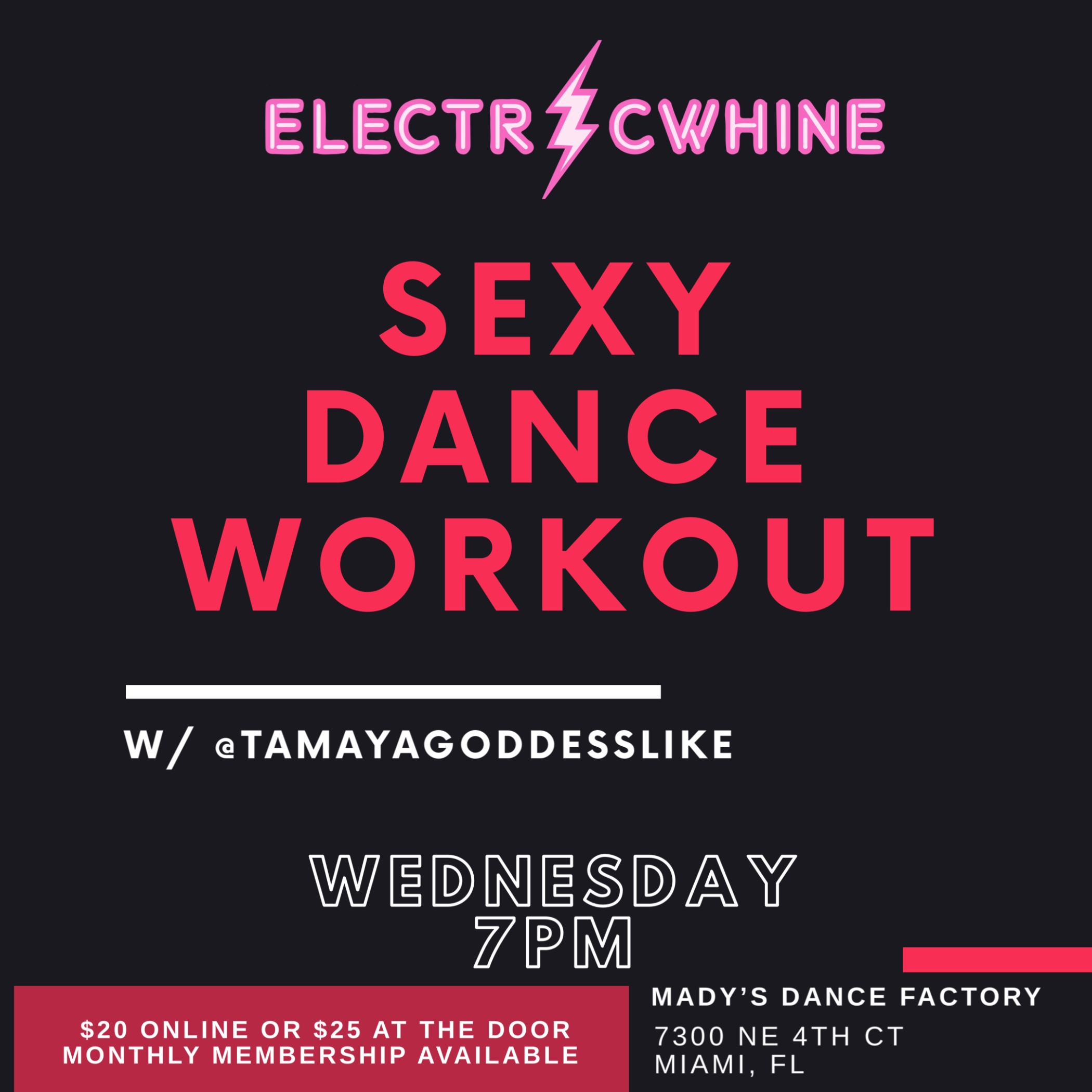 ELECTRICWHINE SEXY DANCE WORKOUT