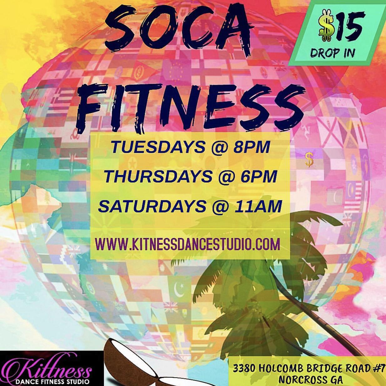 Soca Fitness Saturdays