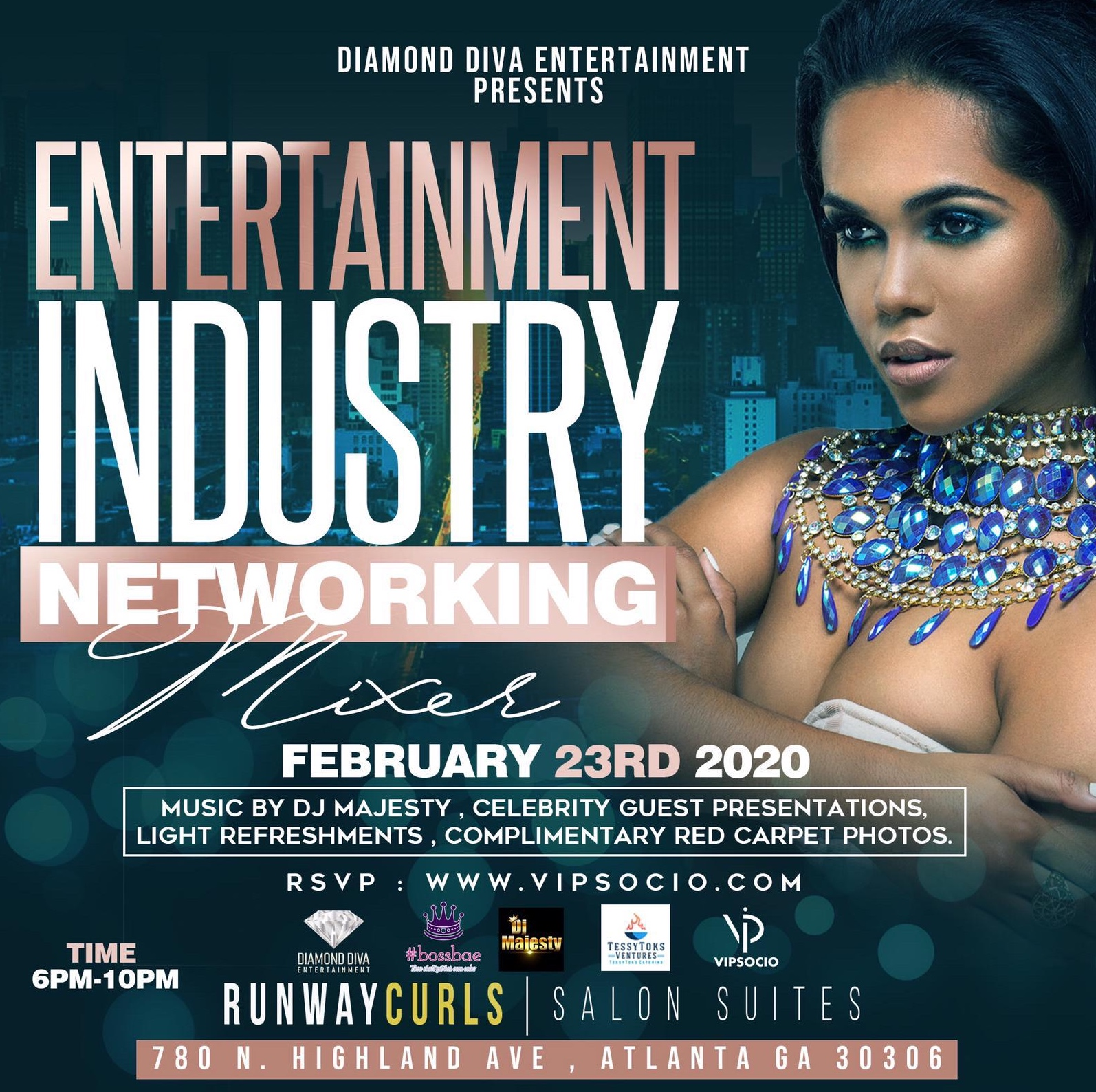Entertainment Industry Network mixer