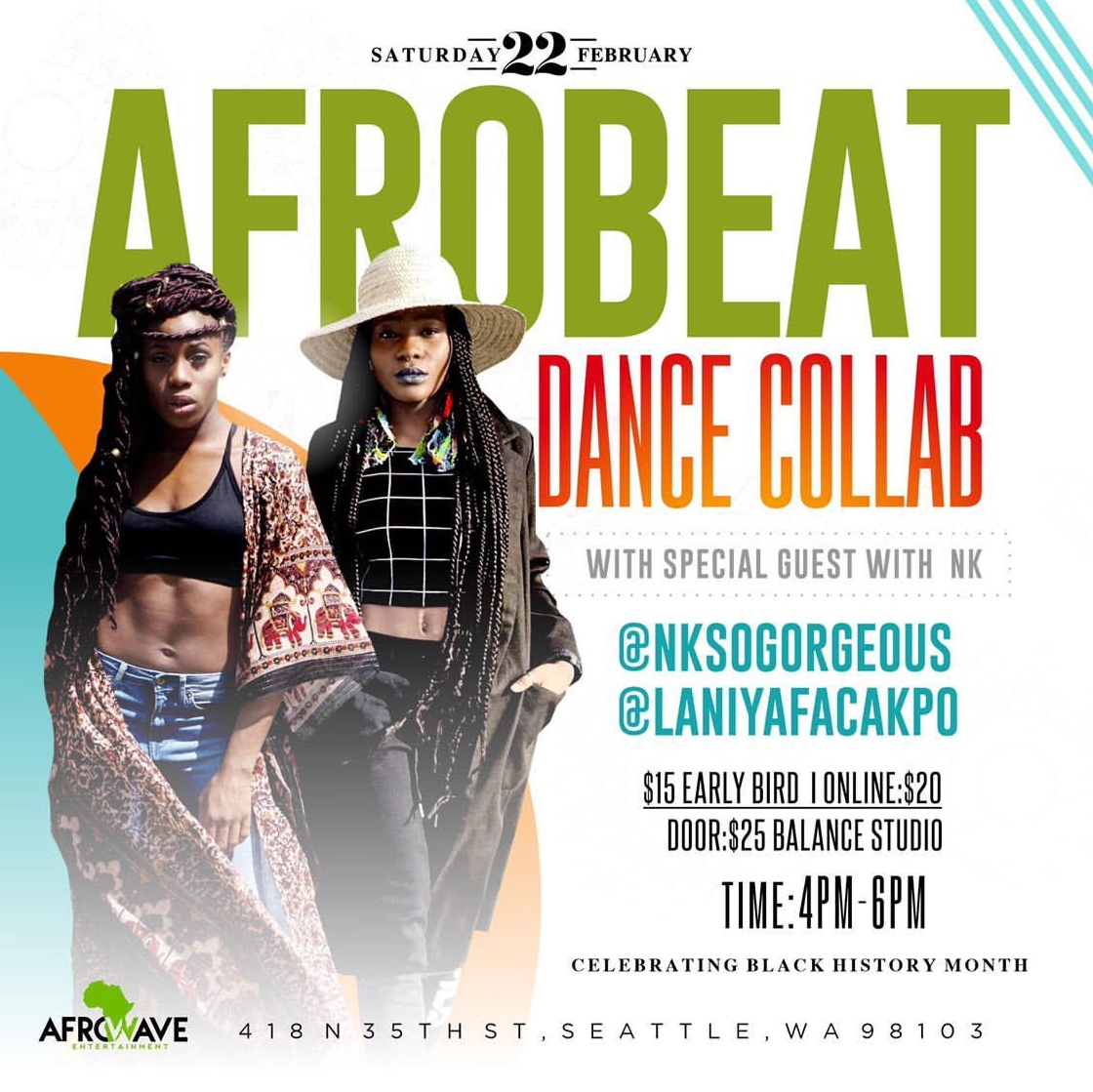 Afrobeat Dance Collab with Special Guest NK