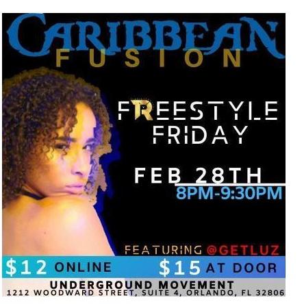 TIMELESS RHYTHM FREESTYLE FRIDAY CARIBBEAN FUSION FT. @GET.LUZ