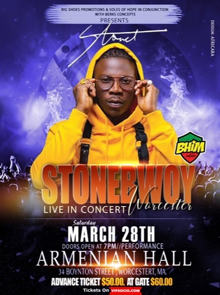 Stonebwoy Live in Concert Worcester