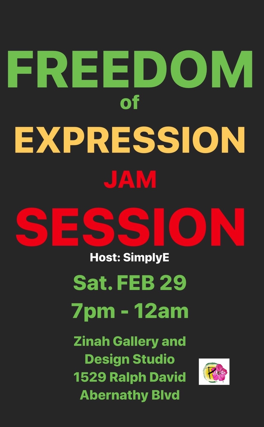 Freedom of Expression Jam Session
