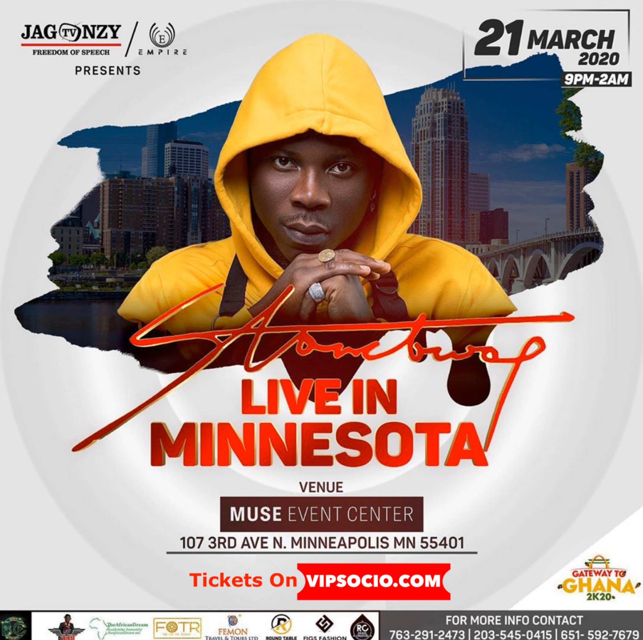 Ghana At 63 With STONEBWOY