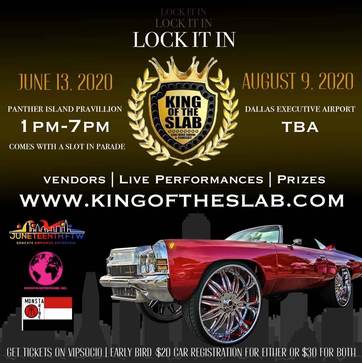 King of the Slab Car Show  Concert