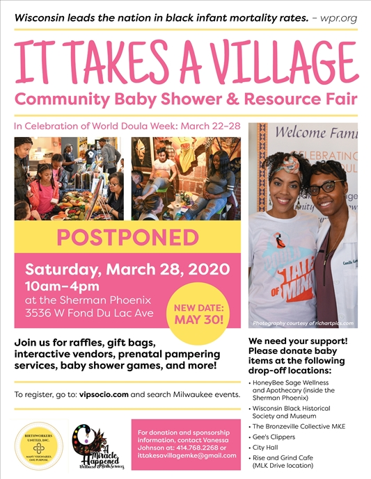 It Takes A Village: Community Baby Shower and Resource Fair