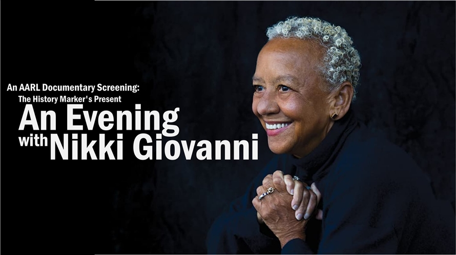 Documentary Screening An Evening with Nikki Giovanni