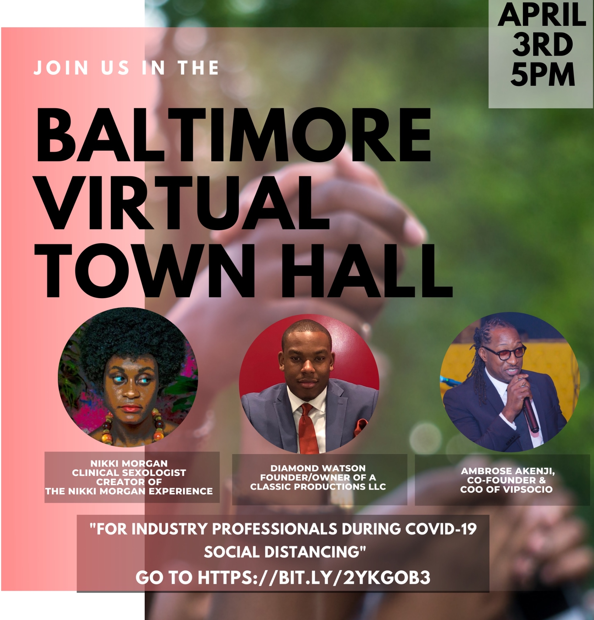 Baltimore Virtual Townhall