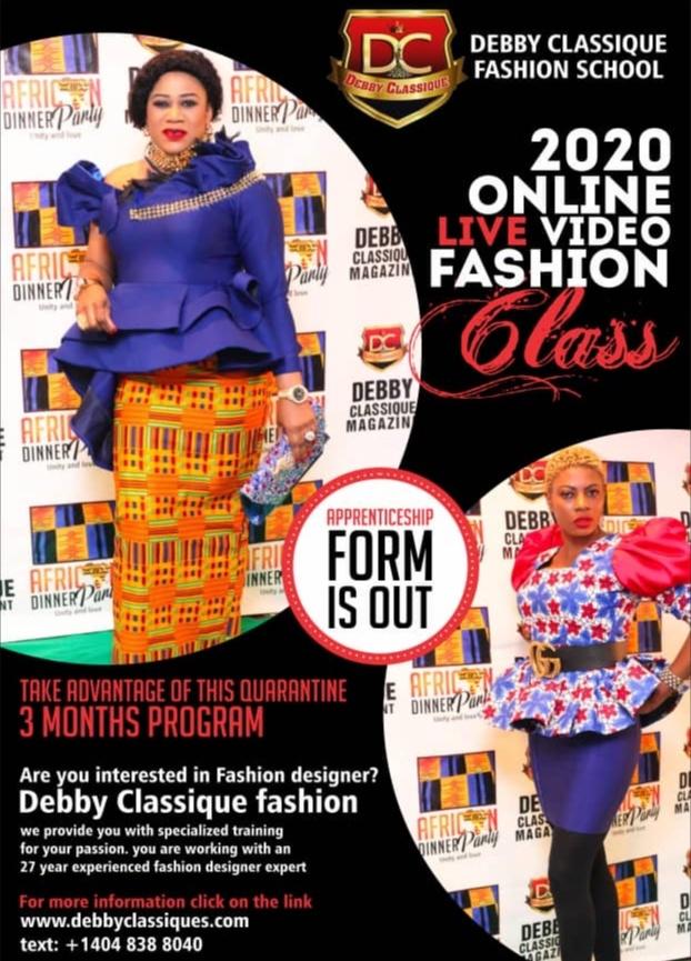 Debby Classique Online Live Video Fashion Class
