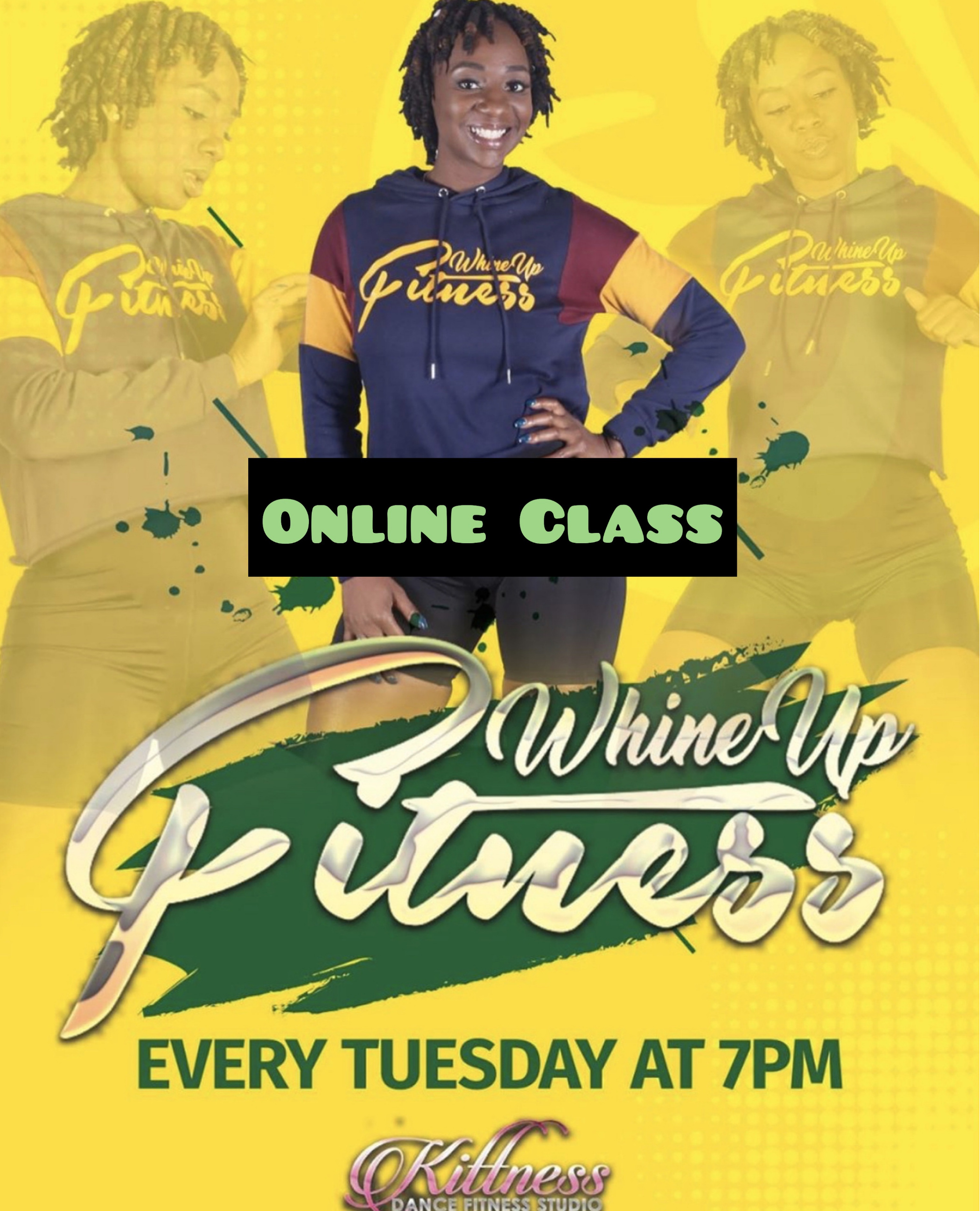 Whine Up Fitness Online Class