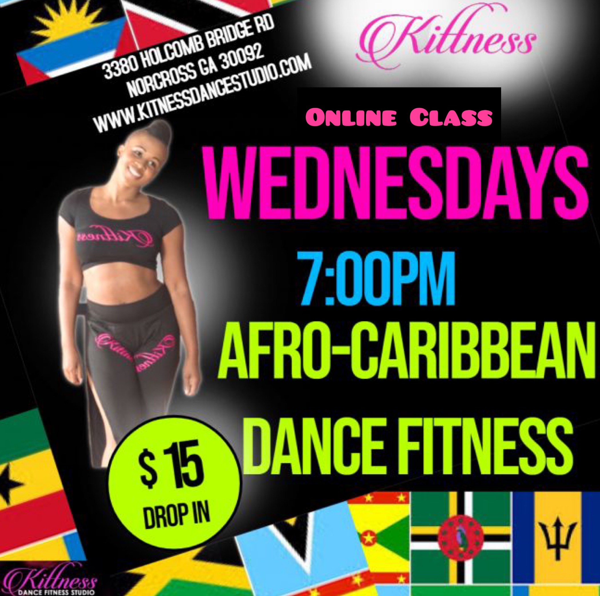 Afro-Caribbean Dance Fitness Virtual