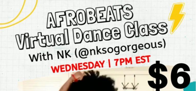 Afrobeats Virtual Class