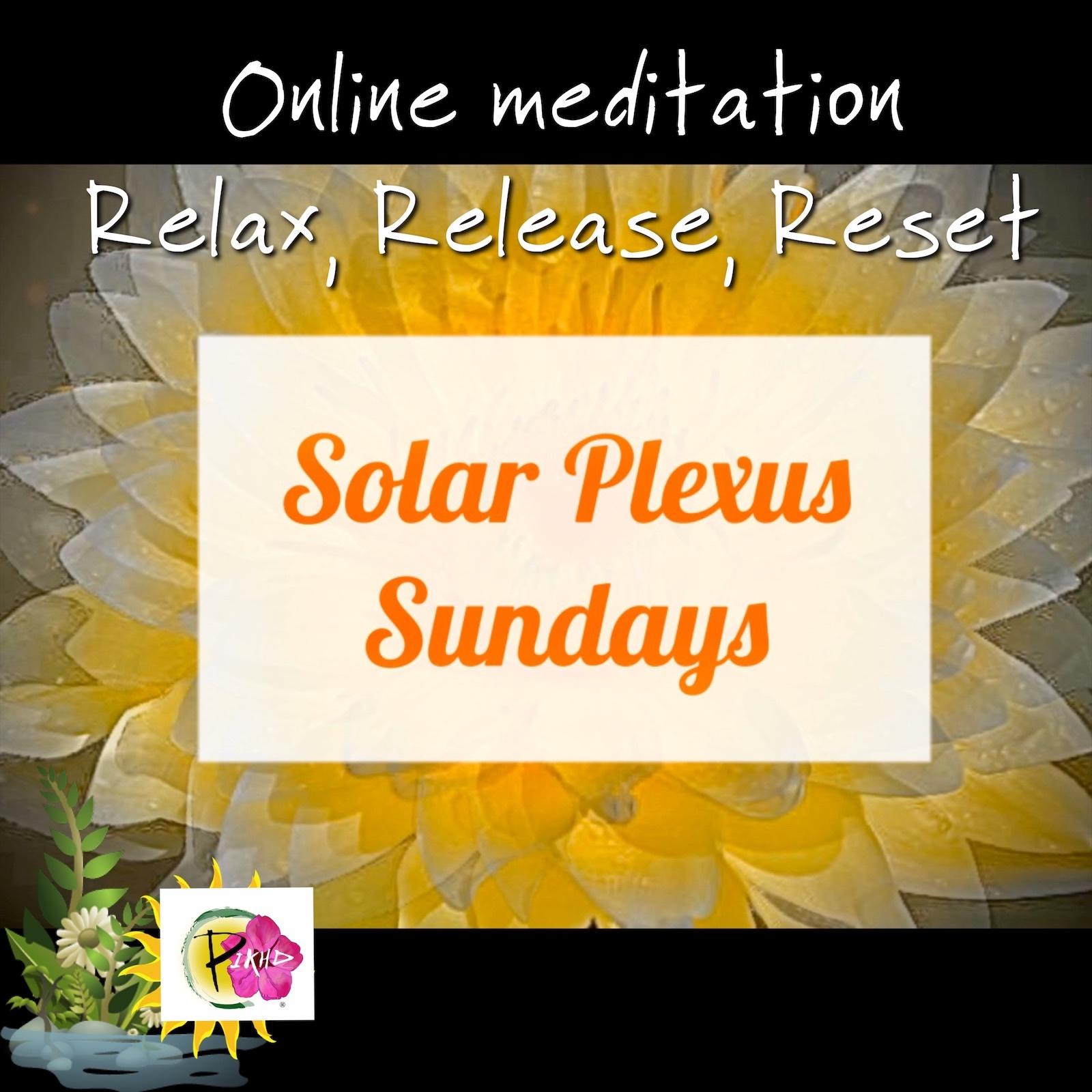 Solar Plexus Sundays May24
