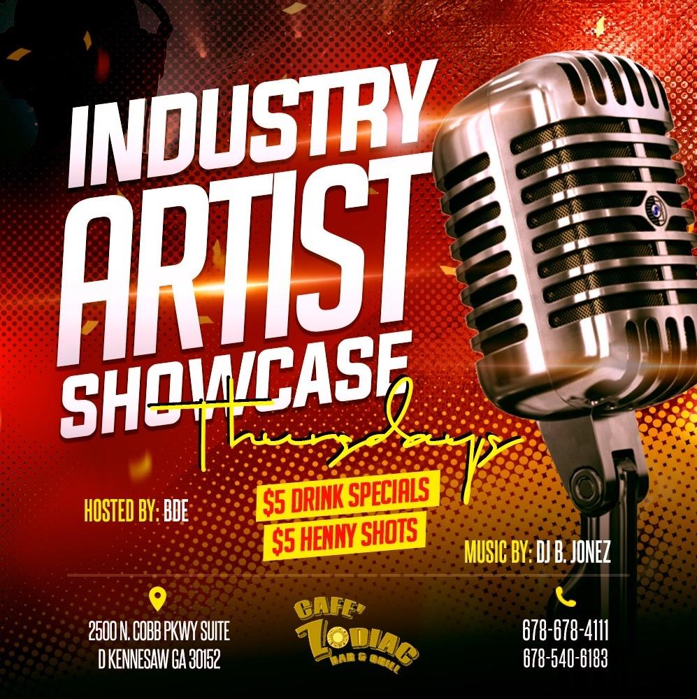 Industry Artist Showcase Thursdays