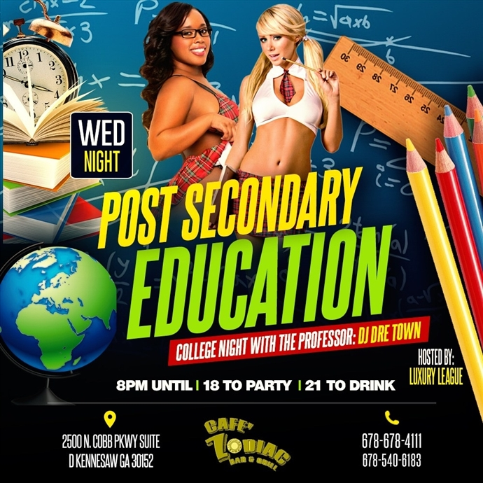 Post Secondary Education Wednesdays