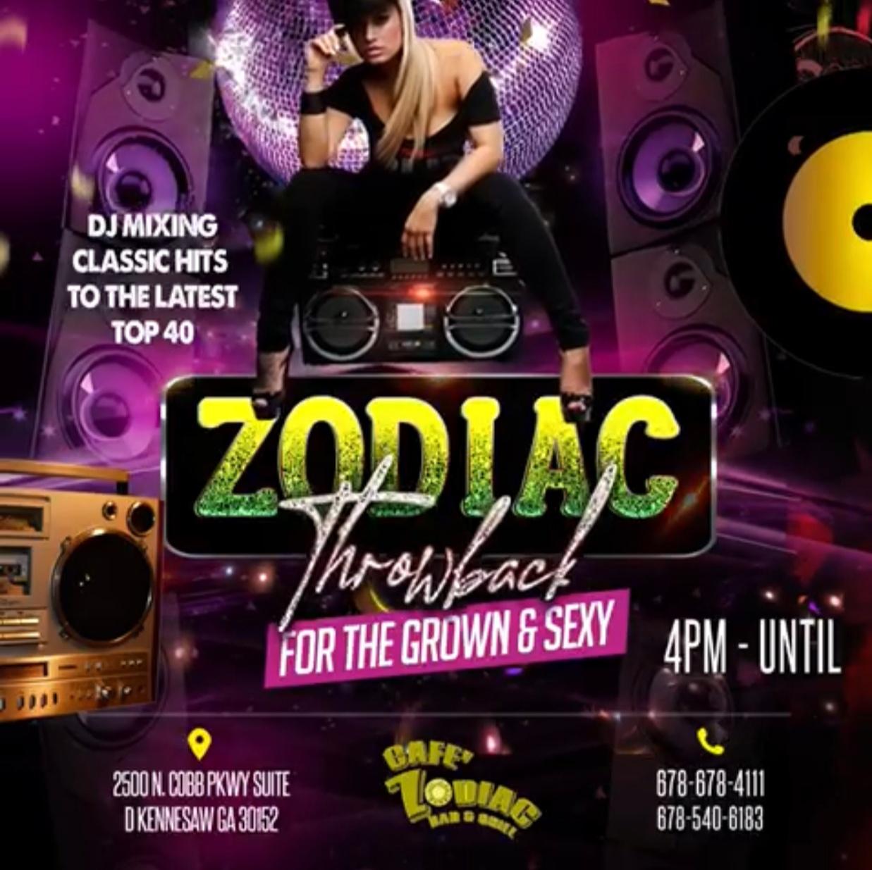 Zodiac Throwback