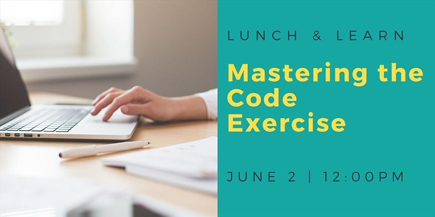 DigitalCrafts Lunch and Learn: Mastering the Code Exercise
