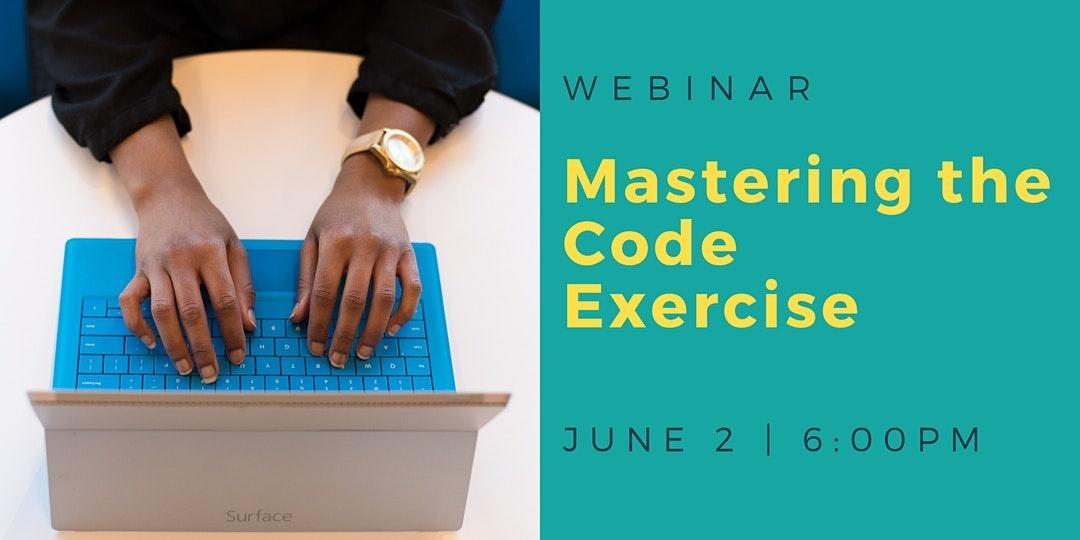 DigitalCrafts Webinar: Mastering the Code Exercise