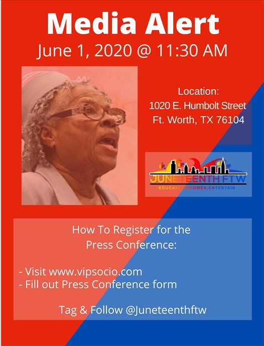 Juneteenth FTW Press Conference