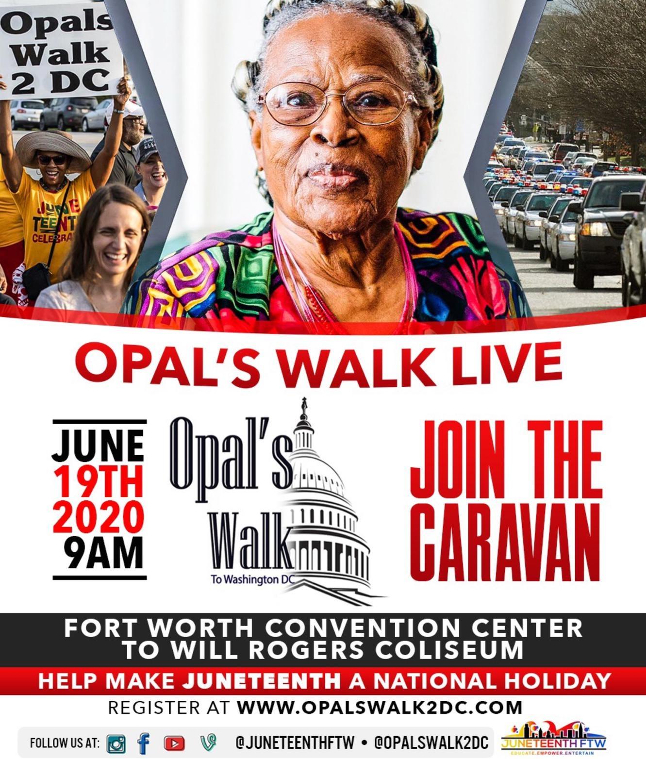Opal's Walk Live Special -Caravan
