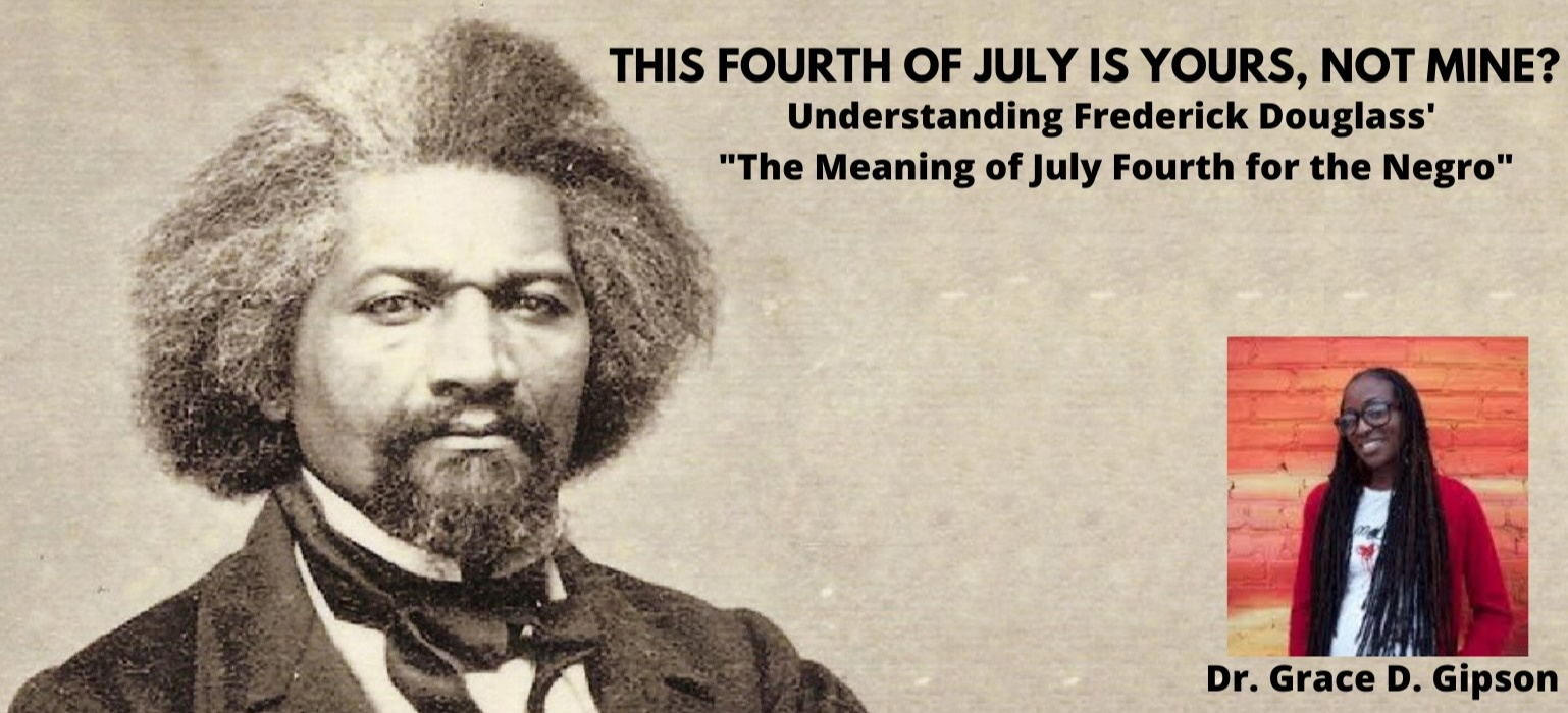 This Fourth of July is Yours, not mine?