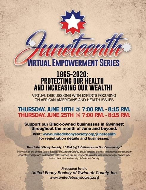 Juneteenth Virtual Empowerment Series