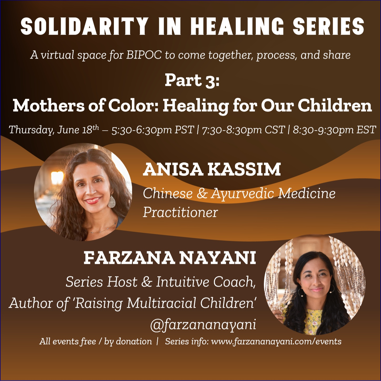 Mothers of Color: Solidarity in Healing Series, Part 3