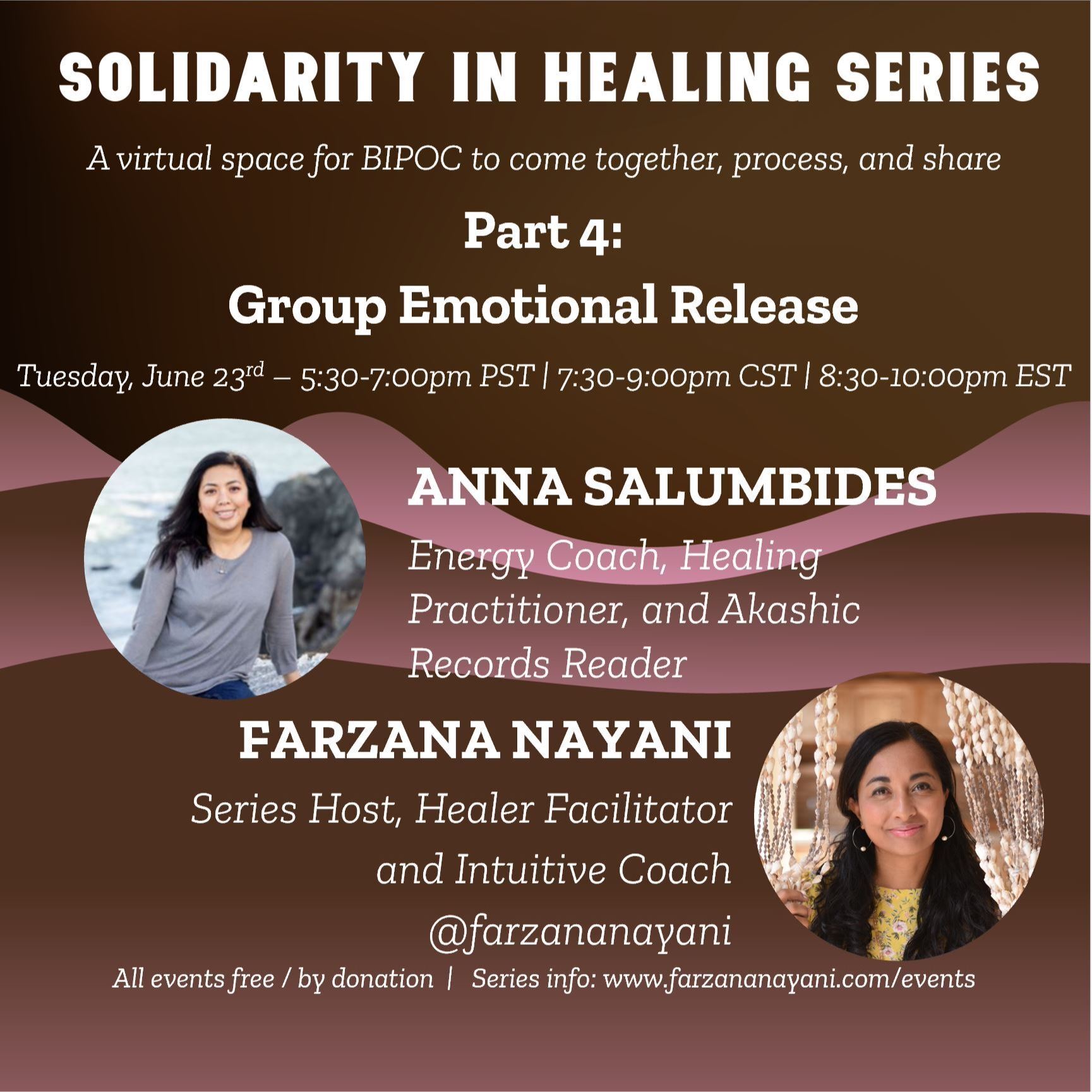 Group Emotional Release: Solidarity in Healing Series, Part 4