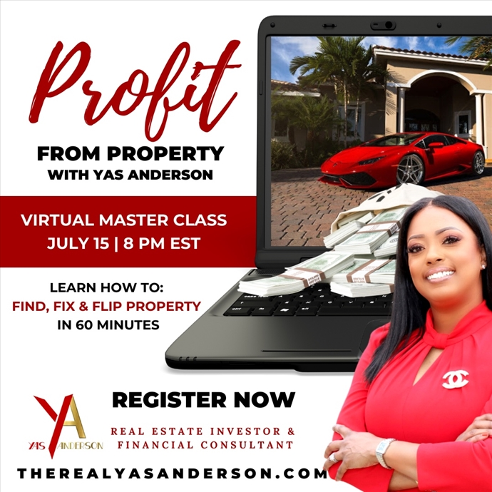 Profit from Property Virtual Master Class
