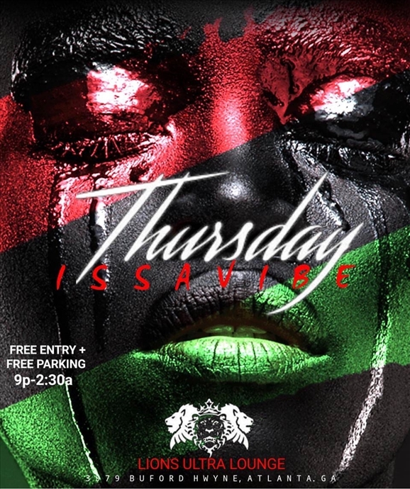 #Issavibe Thursdays (Ladies Night)