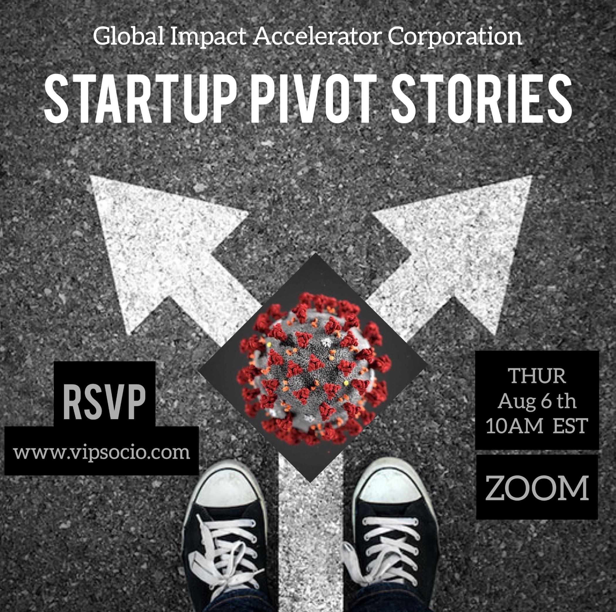 Startup Pivot Stories (10AM EST)