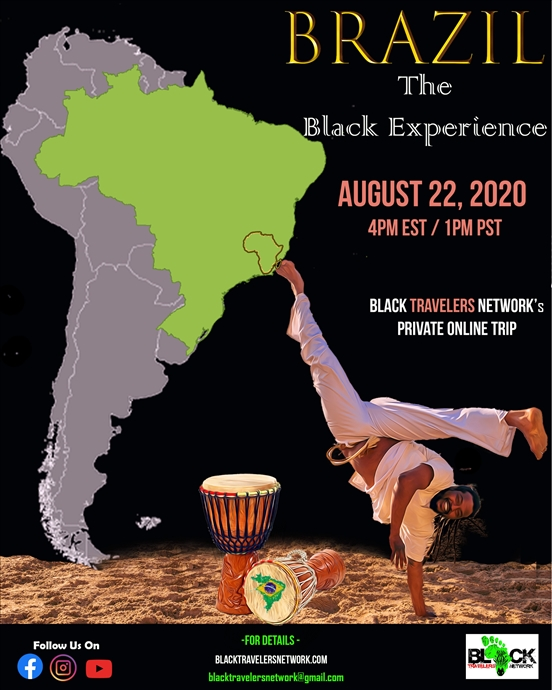 Online Travel Event: Brazil - The Black Experience