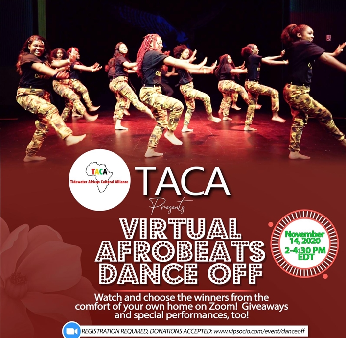 Virtual Afrobeats Dance Off!