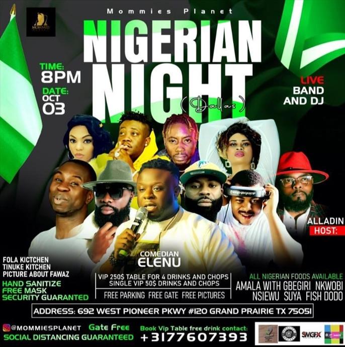 Nigerian Night Dallas