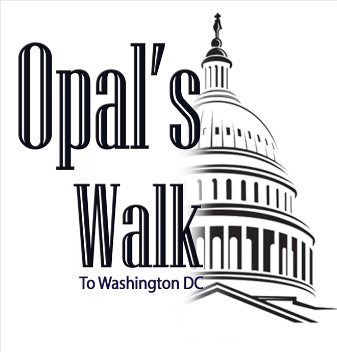 Opal's Walk 2 DC Petiton Delivery